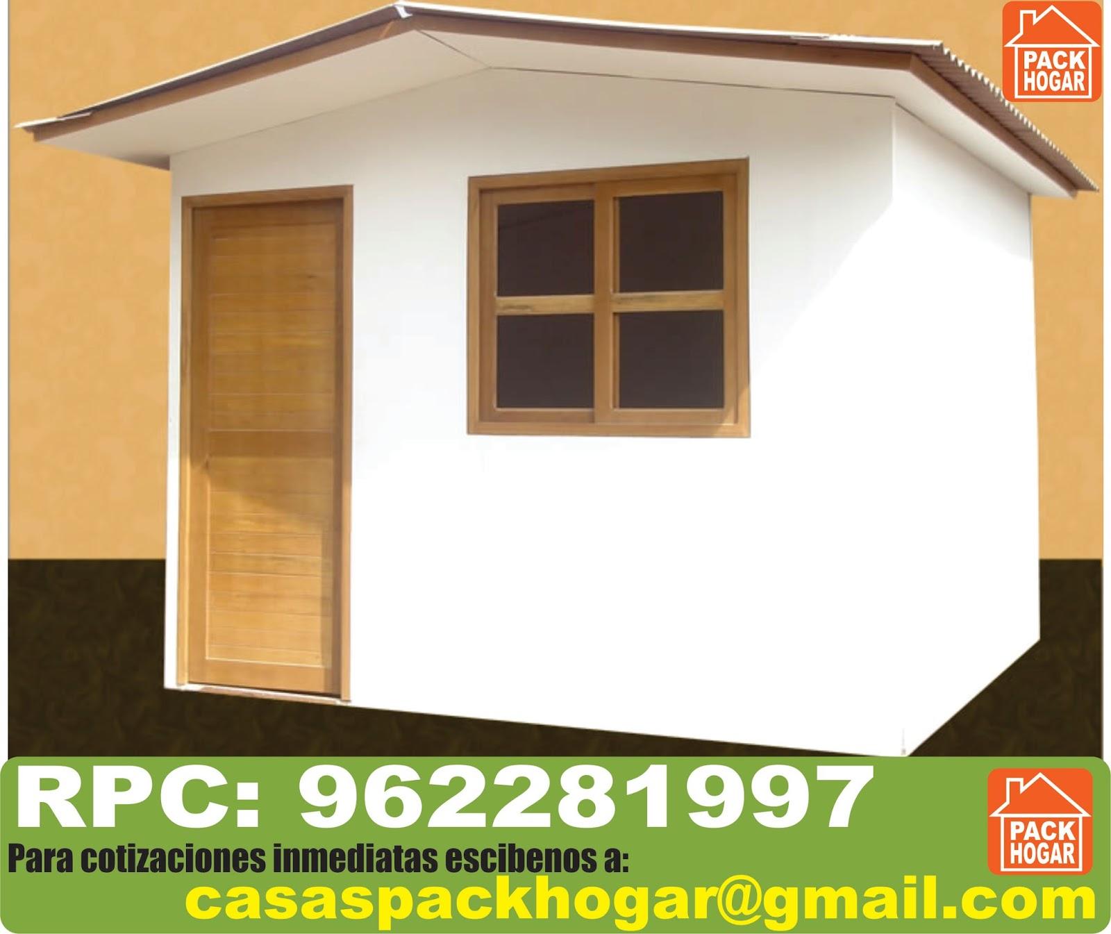 Casetas prefabricadas de madera para terrazas packhogar - Feria de casas prefabricadas ...