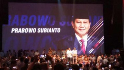 Prabowo Terpeleset Lidah 'Pemimpin Bodoh', Satu Ballroom Tertawa
