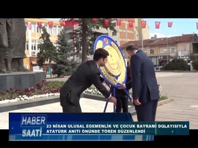 23 NİSAN ULUSAL EGEMENLİK VE ÇOCUK BAYRAMI TURHAL'DA DÜZENLENEN TÖRENLERLE KUTLADI.