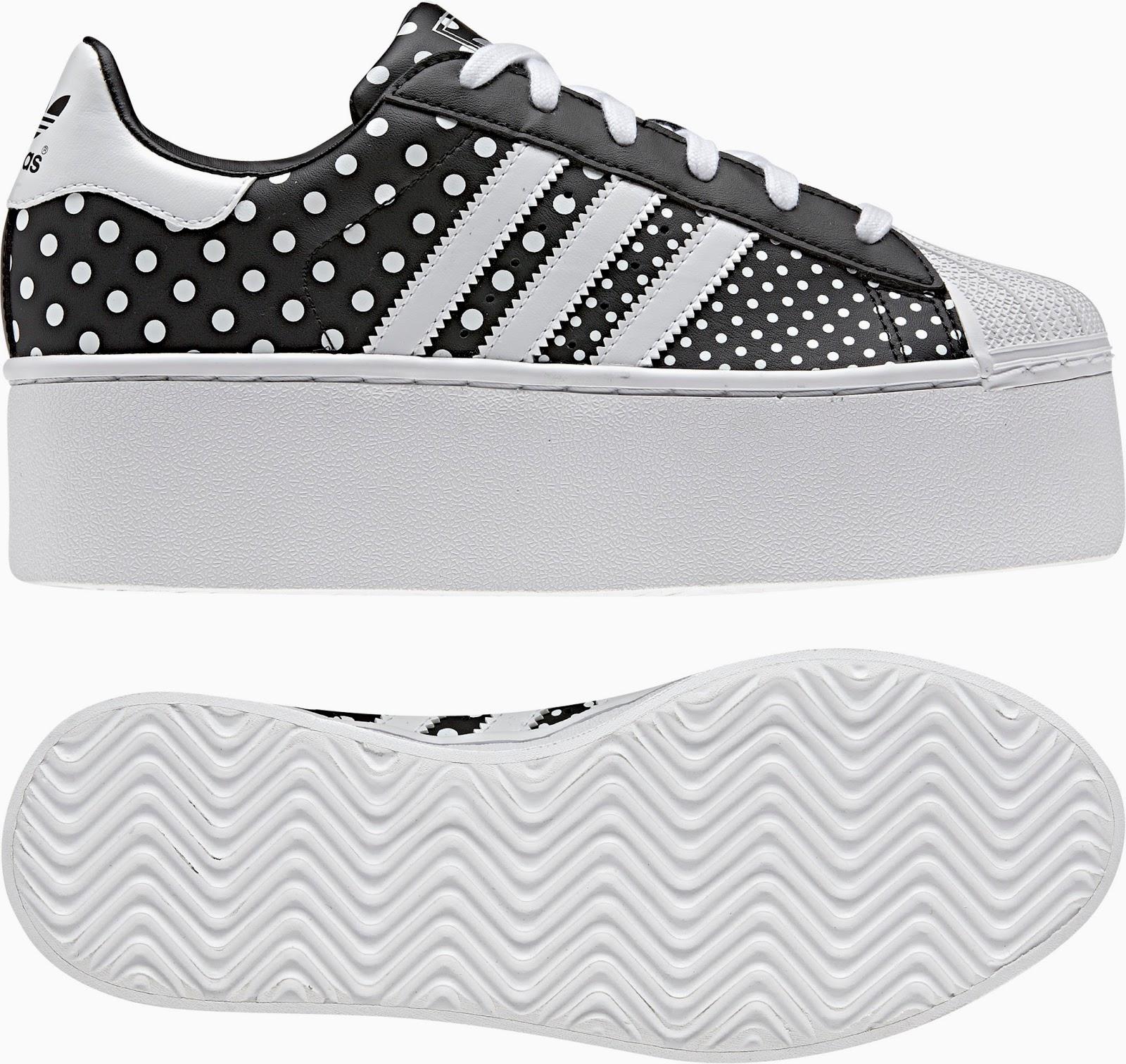 b9a16335433 Agora foi a Adidas que pegou em alguns modelos clássicos da marca (como os  Stan Smith ou os Gazelle) e lhes acrescentou uns centímetros de sola. Ora  vejam