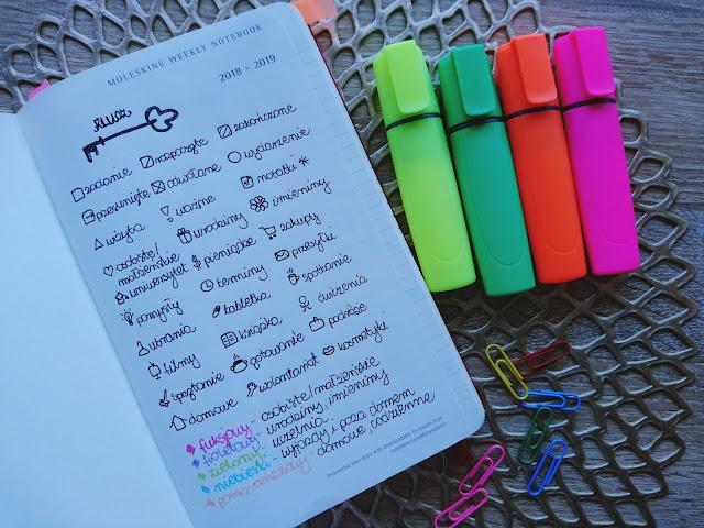 kalendarz, jak się zorganizować