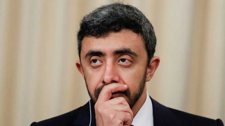 وزير-خارجية-الإمارات-ليبيا-تدخلات-تركية-نظيره-يوناني