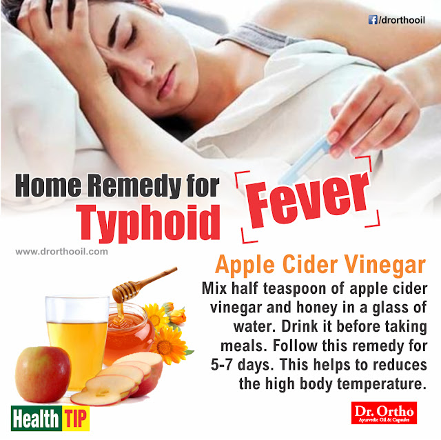 Home Remedy for Typhoid Fever
