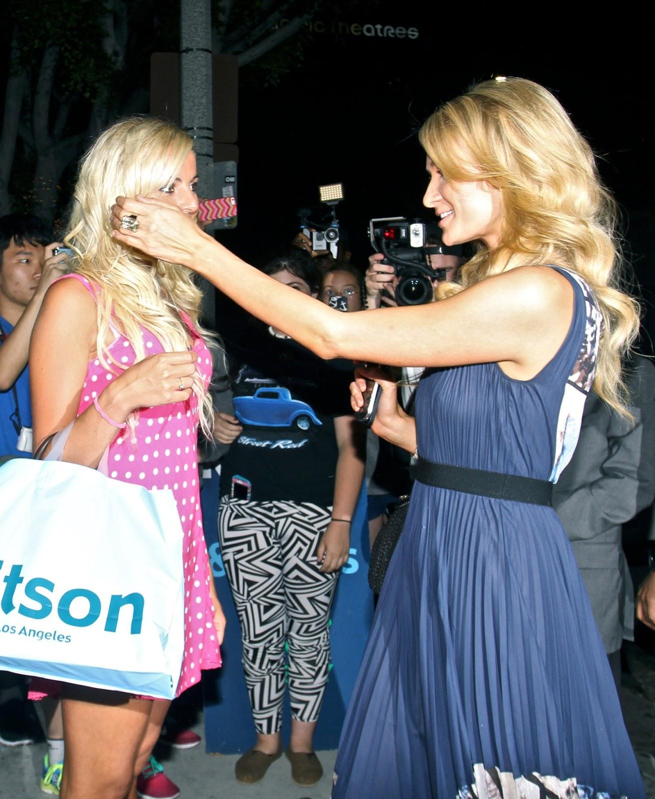 Hot Celebs Pictures: Paris Hilton - Braless See-Through