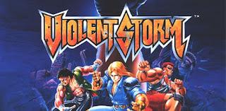 analisis violent storm arcade de konami