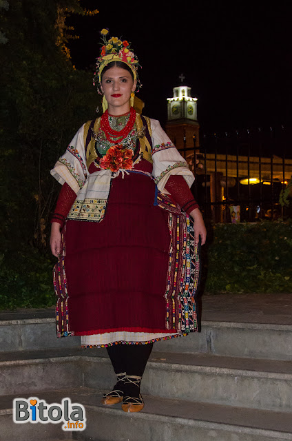 Macedonian national costume - Ethnic area Ovce Pole