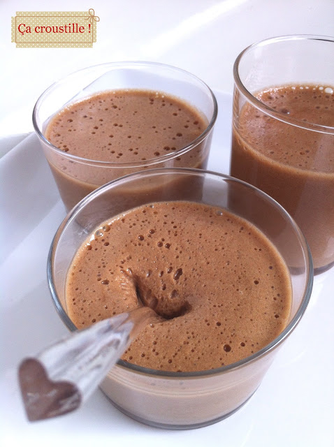 A croustille mousses michoko - Mousse au chocolat a la creme ...