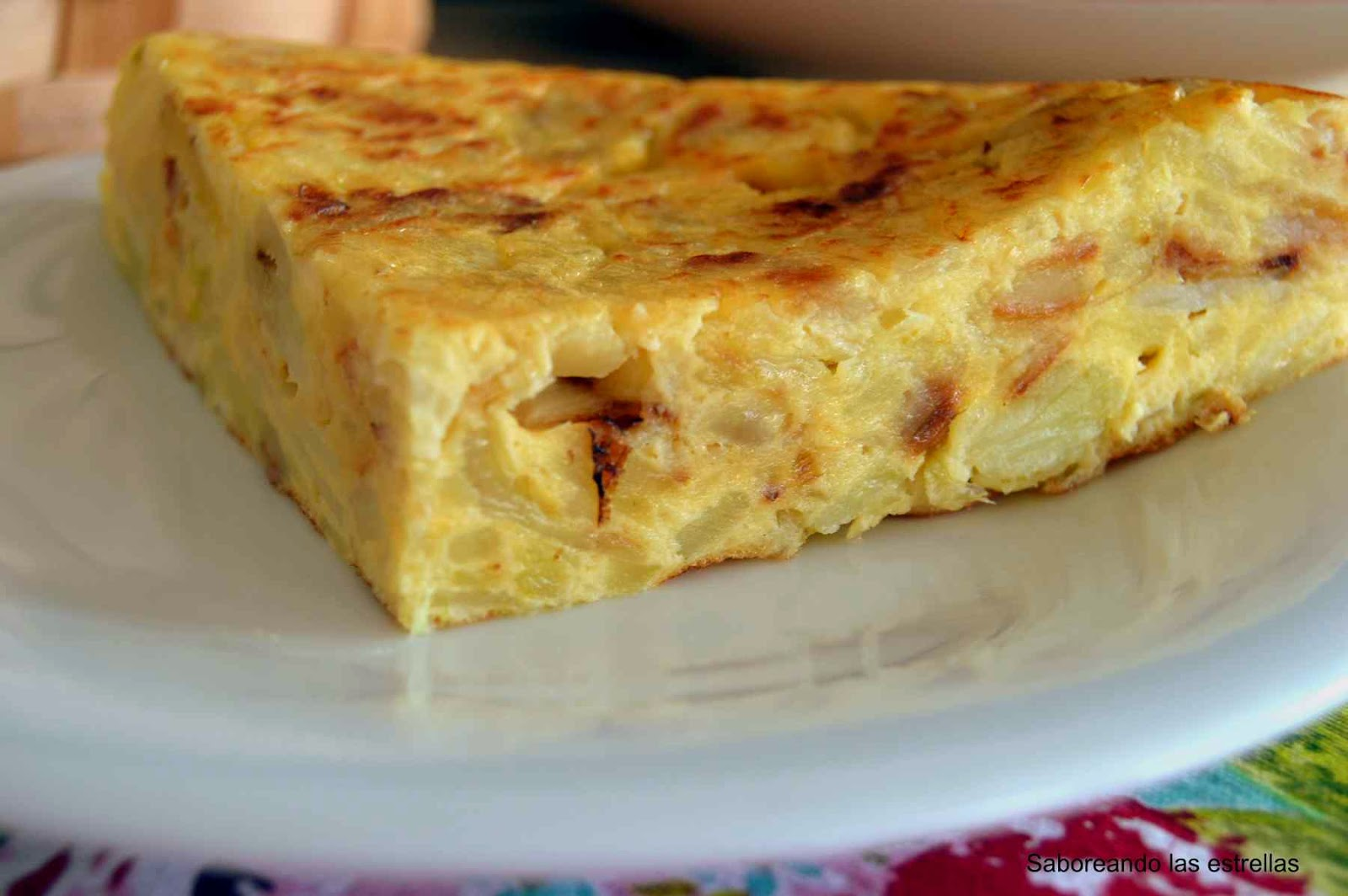 Tortilla Española o Tortilla de Patata