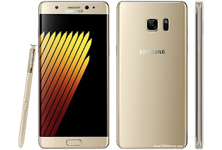 Samsung Galaxy Note7 warna emas