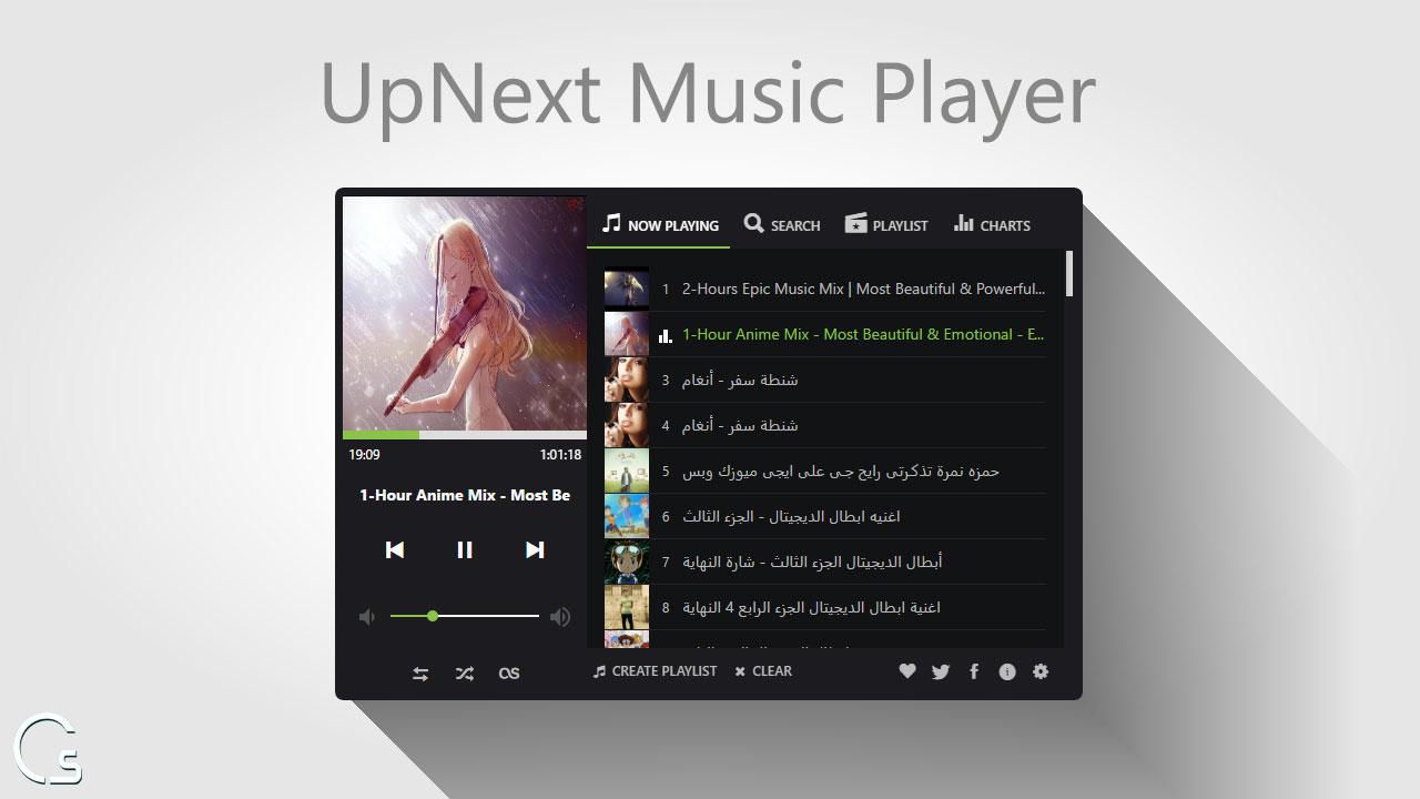 اضافة على جوجل كروم لتشغيل الموسيقى من soundcloud و youtube