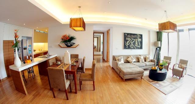 Phòng khách Chung Cư Dolphin Plaza