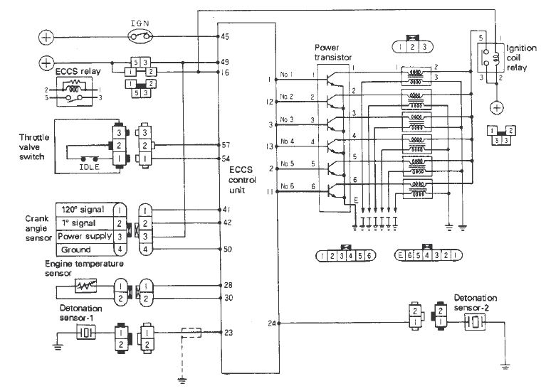 1972 nissan skyline wiring diagram rb26dett ignition system troubleshooting - nissan skyline ... 1972 250c ignition wiring diagram