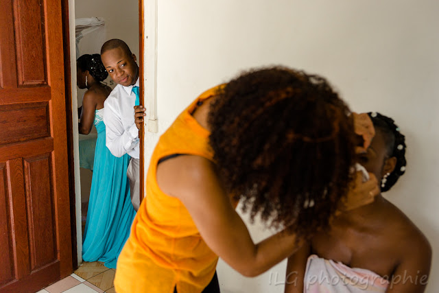 Guadeloupe mariage maquillage mariée