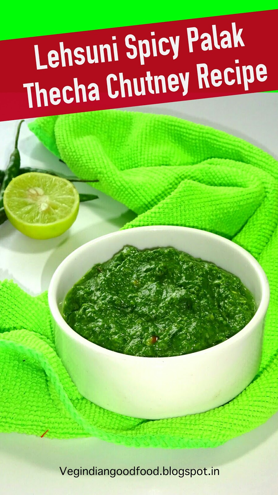how to make spicy chutney