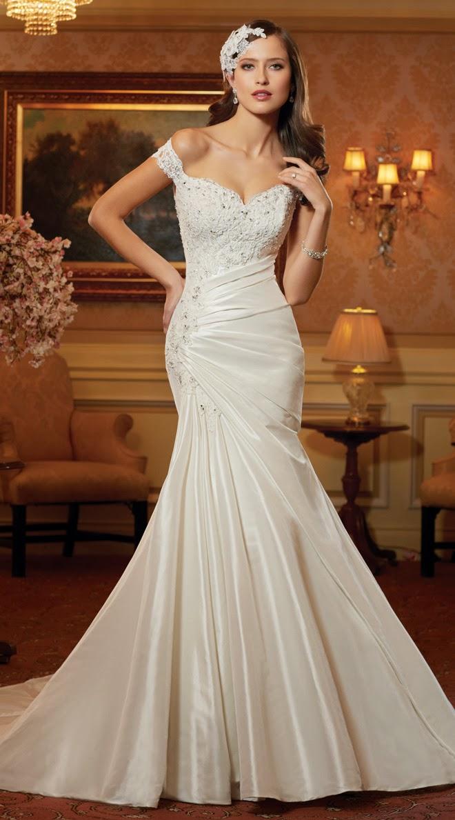 Sophia Tolli Spring 2014 Bridal Collection - Belle The Magazine