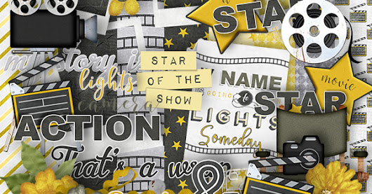 Lights, Camera Action - freebie