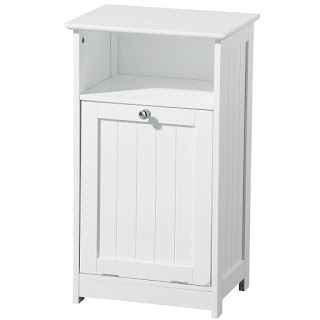 Floor Standing Bathroom Open Cabinets