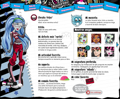 TOYS: Ghoulia Yelps : Monster High . Dolls. Action Figure. Monster High Ghoulia Yelps with Pet Owl Sir Hoots A Lot. Señor Ululo un Monton, mascota. biografia