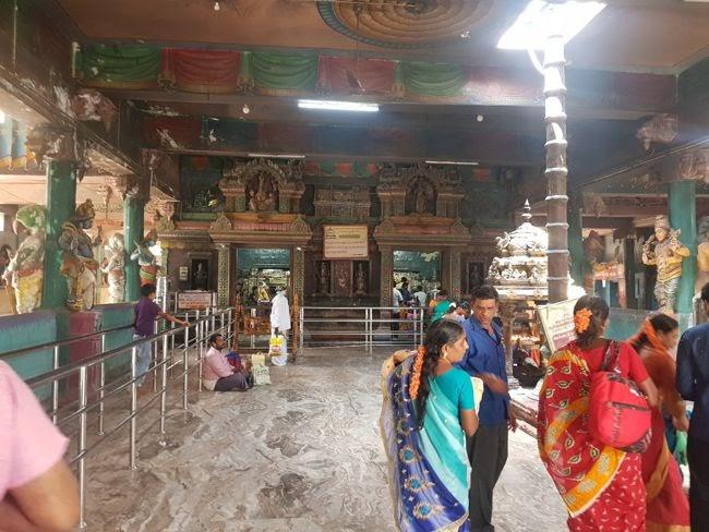 Inside View Of Kolanjiappar Temple