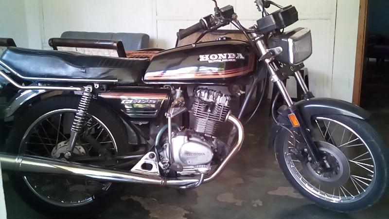 Honda Gl100 Dan Gl125 Mobil Motor Lama