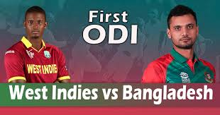 Cricket live score WI vs Ban