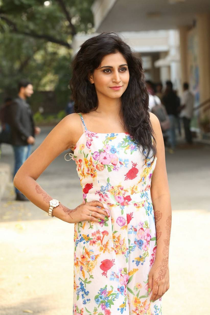 Tollywood Actress shamili Long Hair Legs In White Dress