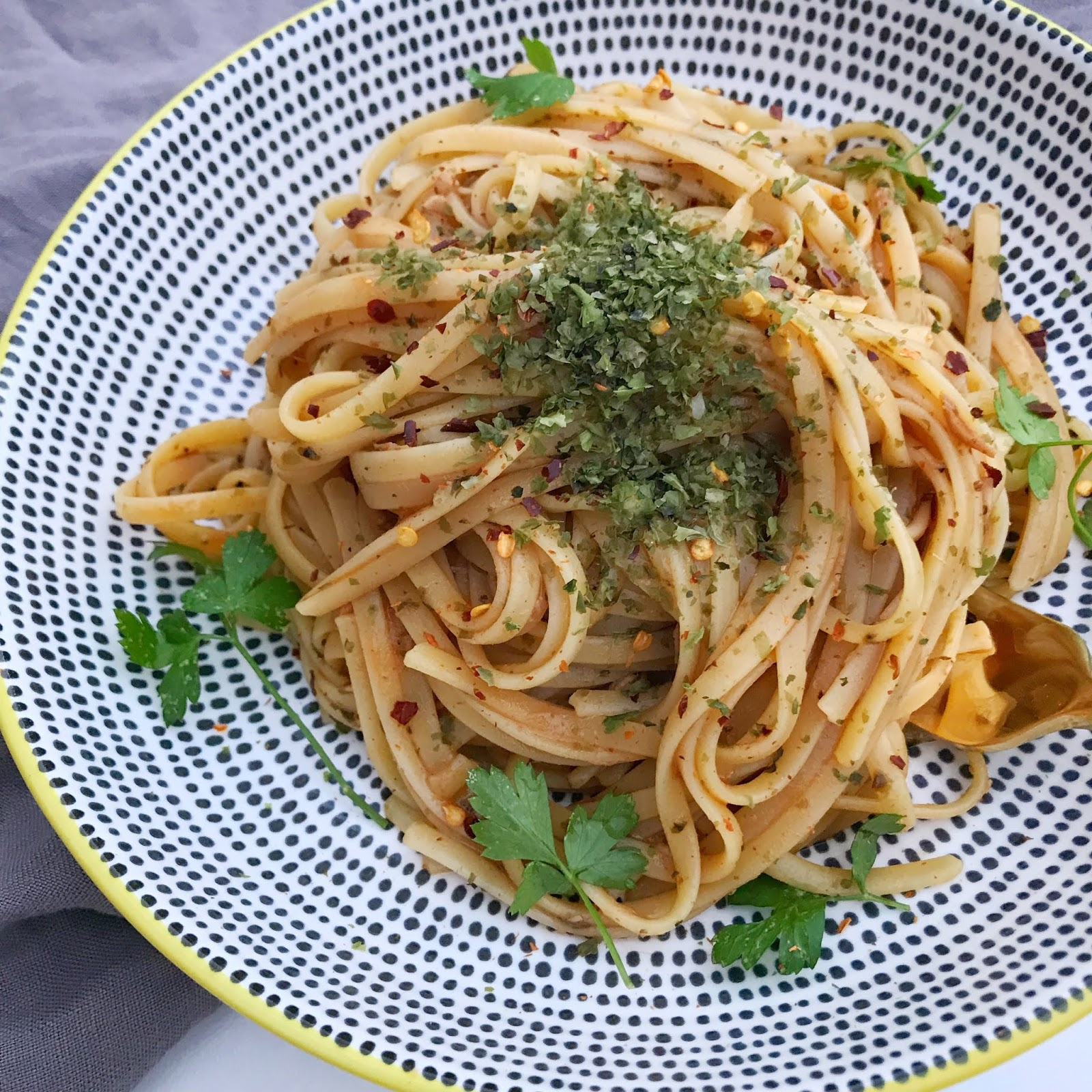Japanese-Style-Pepperonchino-Pasta
