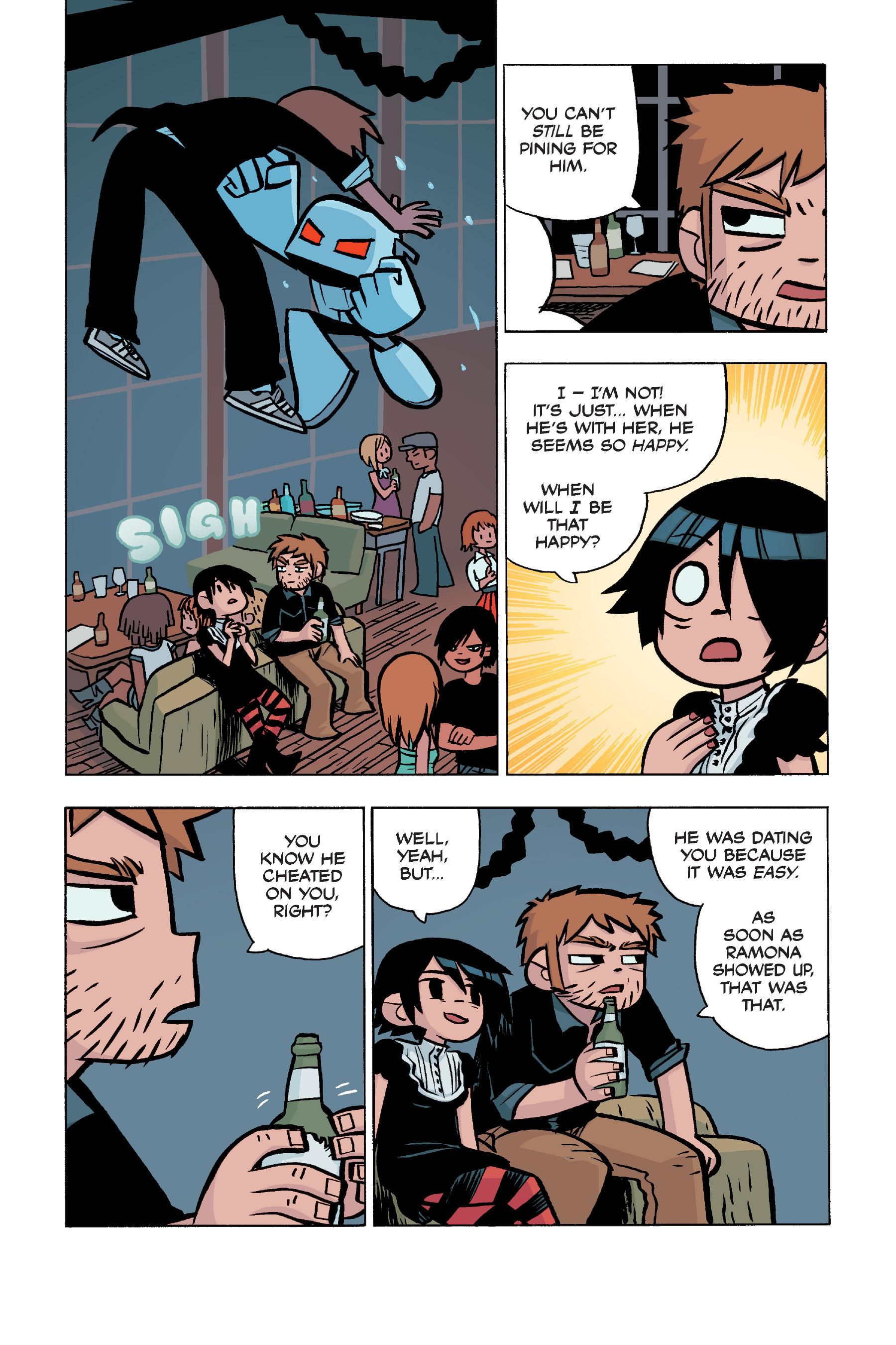 Read online Scott Pilgrim comic -  Issue #5 - 21