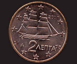 греческая монета «лепто»