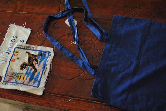 DIY Πρωτότυπες τσάντες με κέντημα