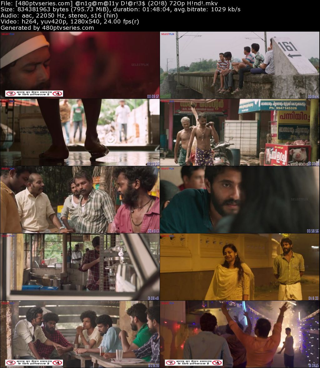 Download Angamaly Diaries (2017) 750MB Full Hindi Dubbed Movie Download 720p HDRip Free Watch Online Full Movie Download Worldfree4u 9xmovies