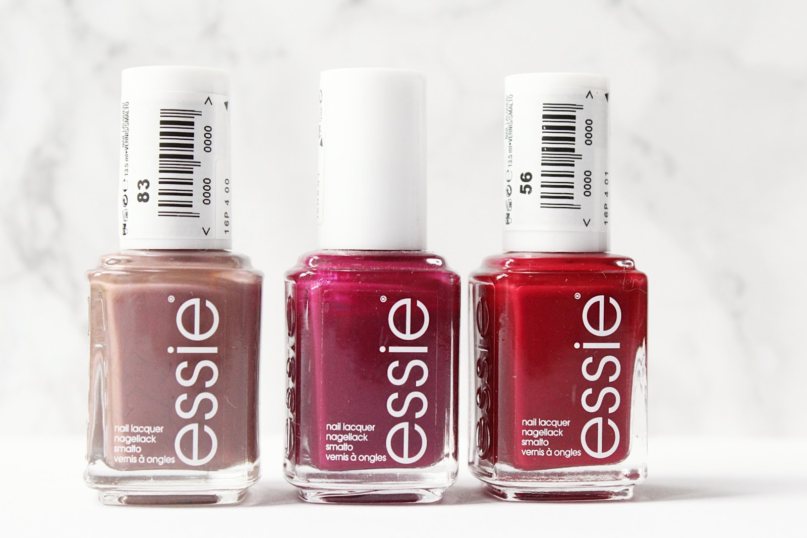 Essie Winter Nail Polish Staples