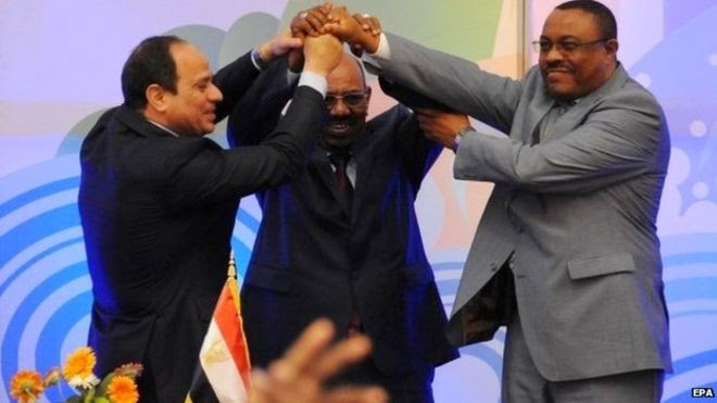 Egypt, Ethiopia and Sudan sign deal to end Nile dispute