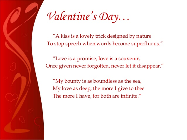 introduction speech for valentines day