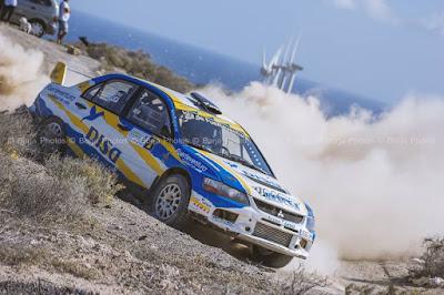 Rally tierra Isla de Tenerife