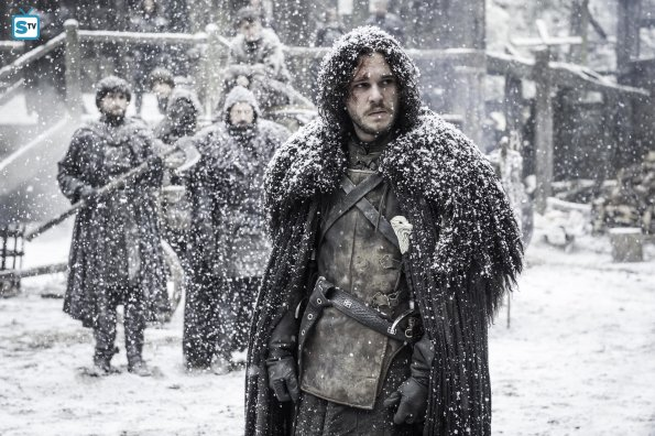 Game of Thrones 5x09 - Jon Nieve