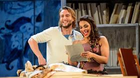Björn Bürger & Danielle de Niese in Rossini's Il barbiere di Sivigla at Glyndebourne - photo Bill Cooper