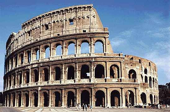 El Coliseo Romano Coliseo Romano
