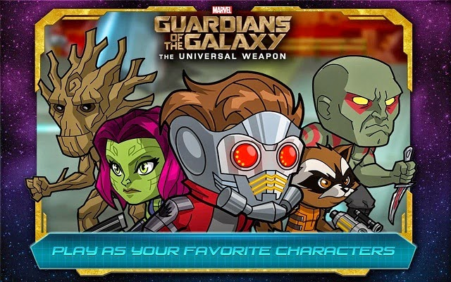 Guardians of the Galaxy Game untuk Android