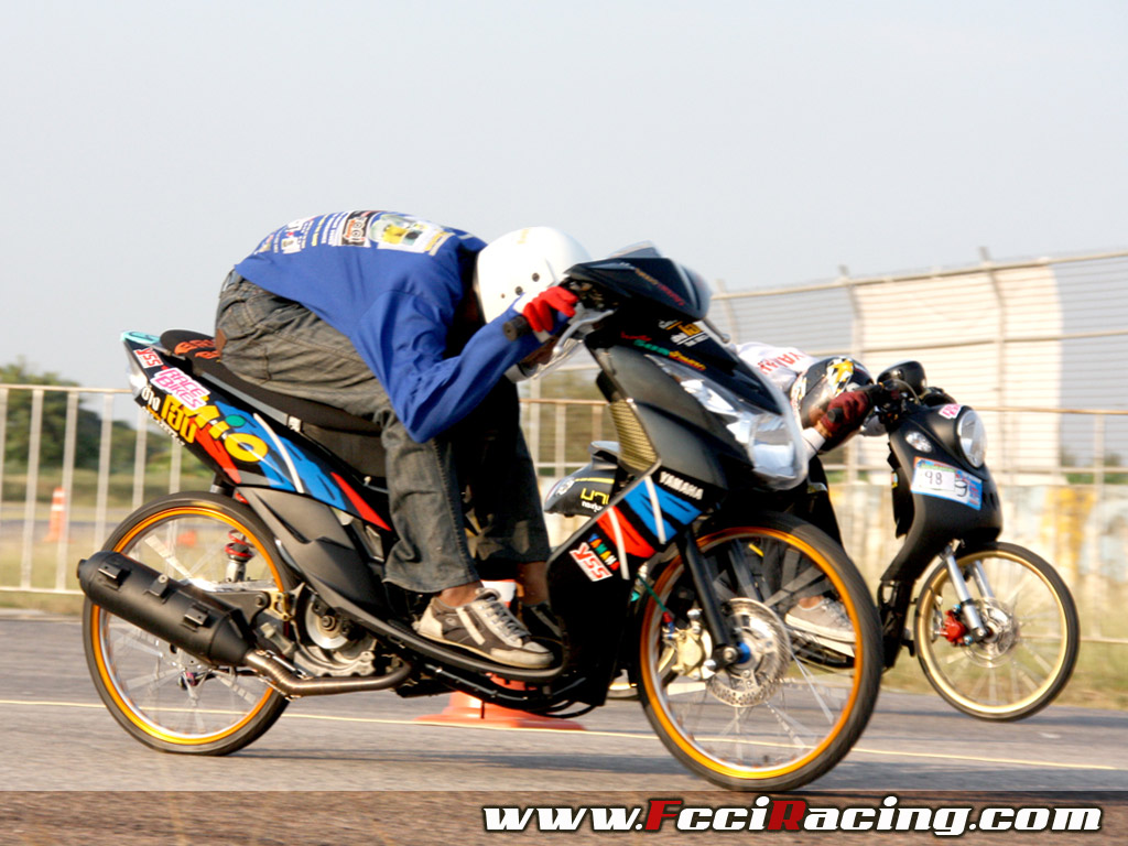 Yamaha Mio Drag Bikes Race FCCI Racing WallpaperBest