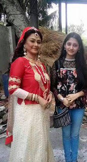 Puja Cherry Roy and Kironmala TV Serial Actress
