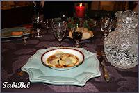 Ravioles au foie gras et aux truffes, sauce Porto