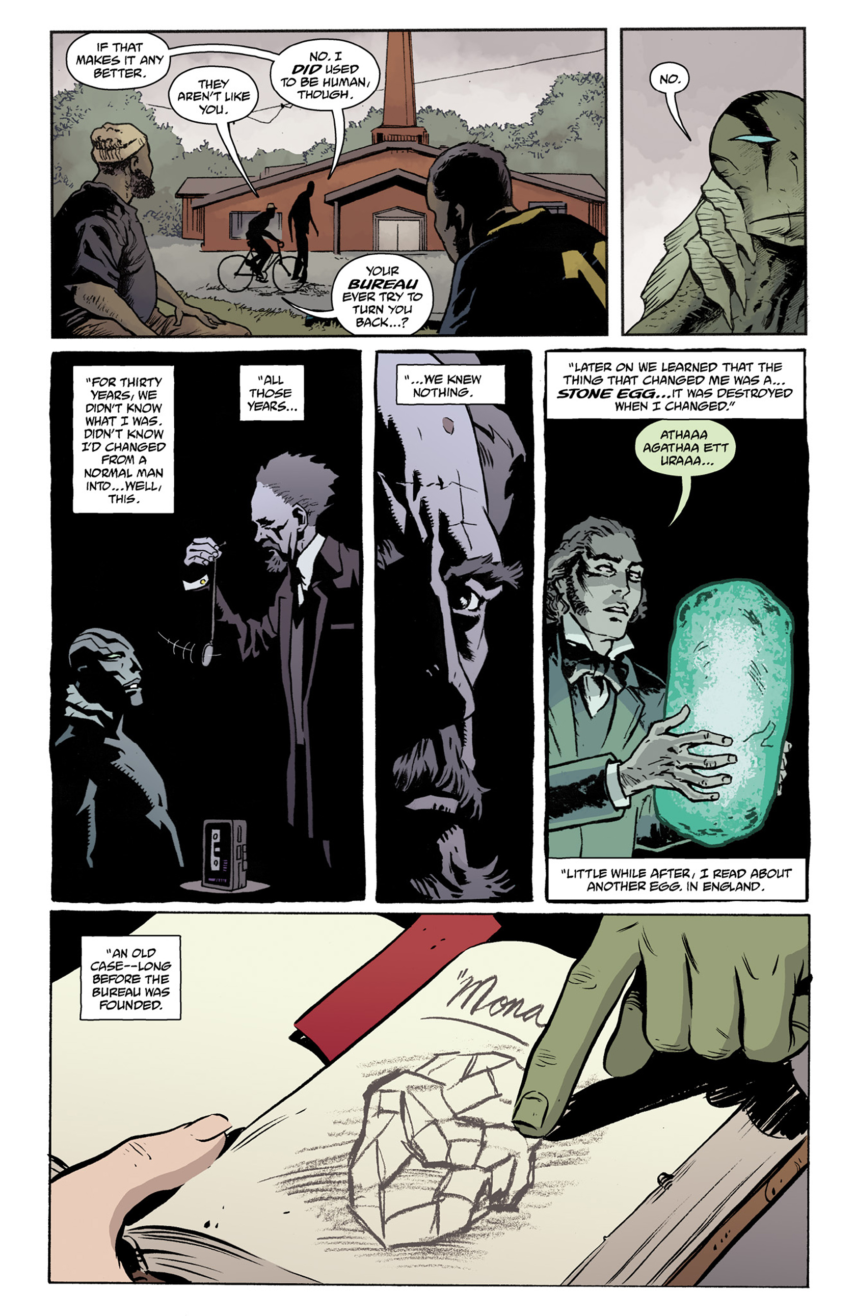 Read online Abe Sapien comic -  Issue #25 - 10