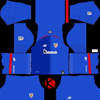 Athletic Bilbao 2018/19 Kit - Dream League Soccer Kits
