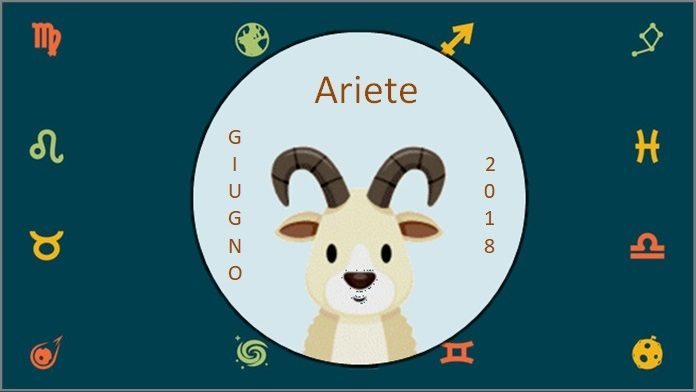 Oroscopo giugno 2018 Ariete