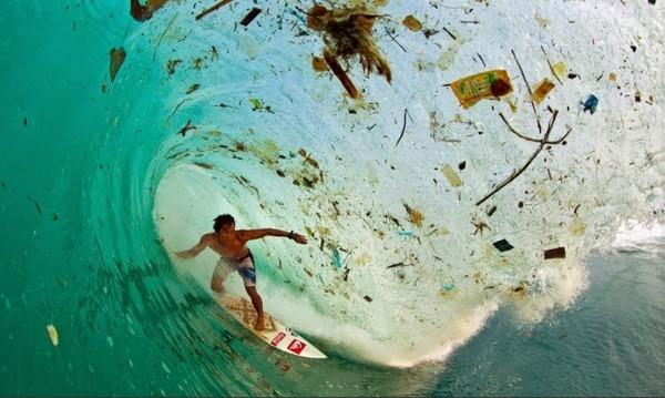 cuộn sóng rác