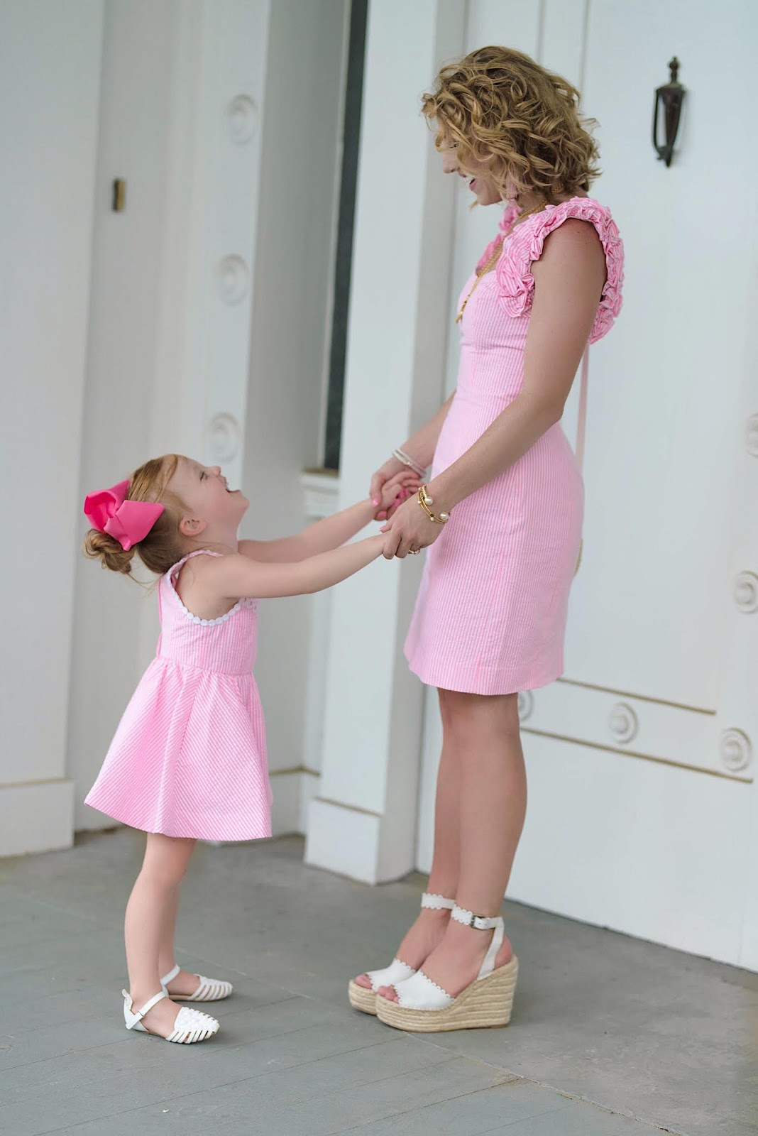 Lilly Pulitzer Mommy and Me Seersucker - Something Delightful Blog