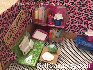 Lps Bedroom Made Out Of Cardboard Box Designed By Tarms