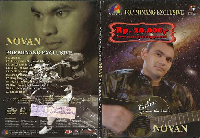 Novan - Galau Hati Nan Luko (Album Pop Minang Exclusive)