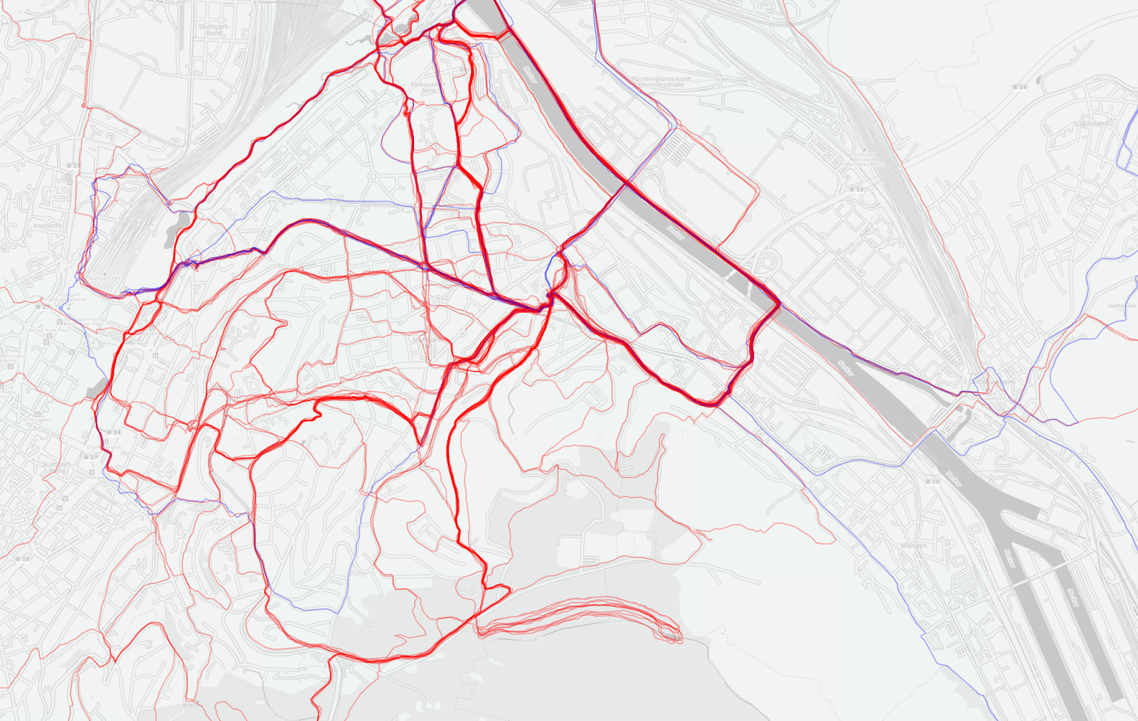 Get your tracks from the Strava API and plot them on Leaflet